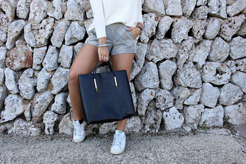 Mode, look, Zara, Short, Pull, Fashion, Blog, Style