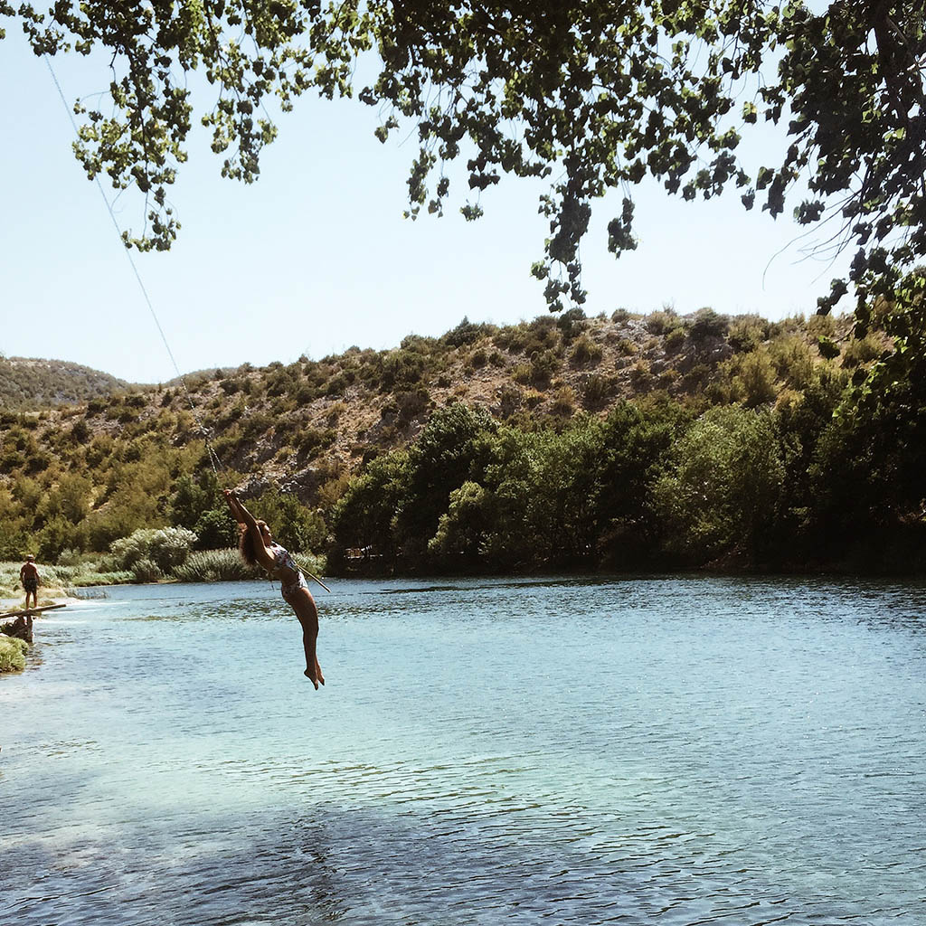 lac, voyage, travel, guide, croatie